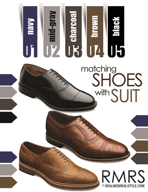 what color with brown shoes matching dress shoes with suits how to match a shoe with