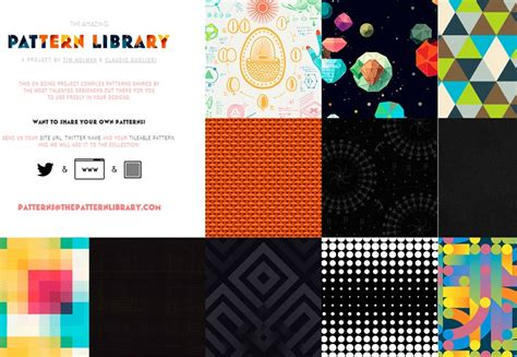 web pattern library 50 essential freebies for web designers march 2014