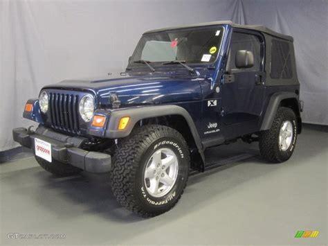 pearl jeep wrangler 2004 patriot blue pearl jeep wrangler x 4x4 31900710