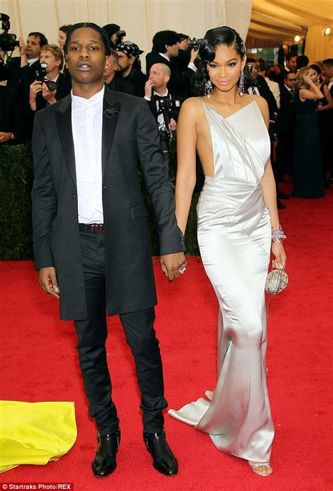 chanel iman on asap rocky chanel iman and rapper asap rocky call off engagement