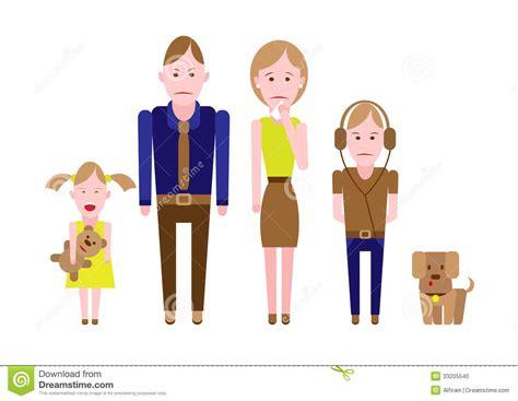 imagenes de triste familia familia triste foto de archivo imagen 33205540