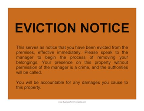 printable baby eviction notice 10 best photos of printable eviction notice funny funny