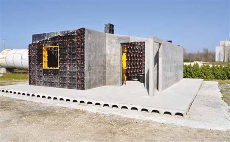 build a house build a concrete house with geopanel geoplast
