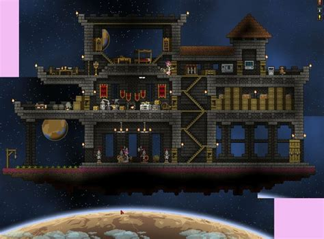 starbound houses pin by alex fr 234 ne on starbound houses