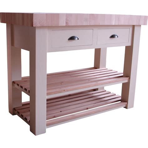 Kitchen Trolley Island by Butcher Block Island Freestanding Islands
