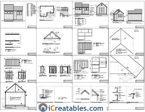 Free Shed Plans 12x10 by Tifany 12x8 Garden Shed Plans