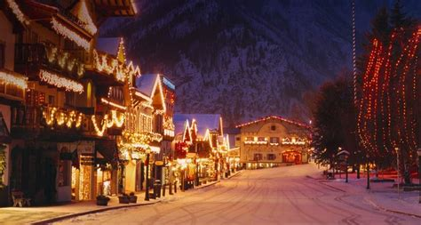lights of christmas washington state top 10 winter getaways for couples top inspired