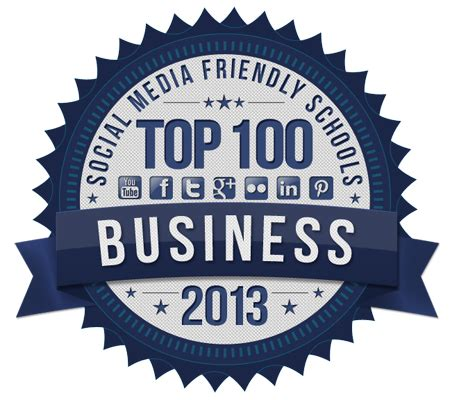Friendly Mba Programs by Top 50 Most Social Media Friendly Fortune 500 Companies