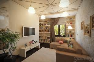 Modern feminine lounge decor interior design ideas
