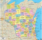 Alfa Img  Showing &gt Driving Map Of Wisconsin