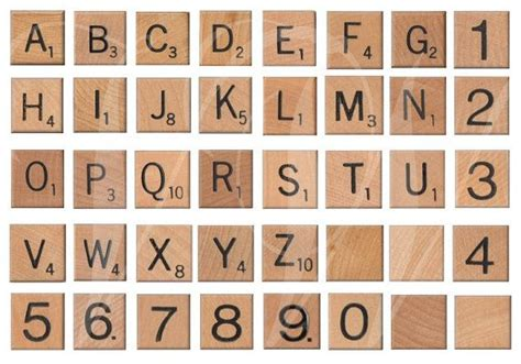 number of letters in scrabble vintage wooden scrabble letters and numbers digital
