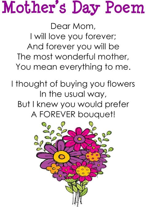 day poems best mothers day poems