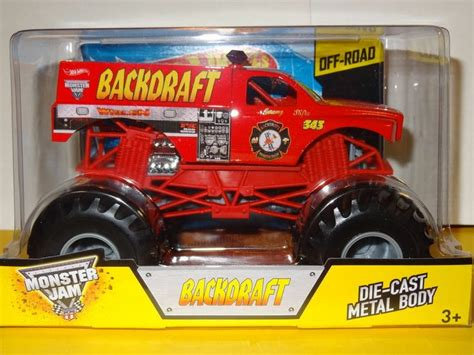 trucks on jam wheels and 2014 wheels jam truck 1 24 scale backdraft