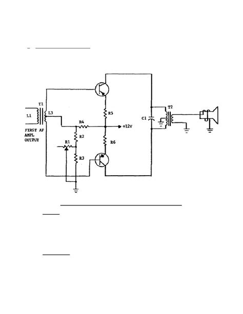 transistor lifier output stage push pull output stage