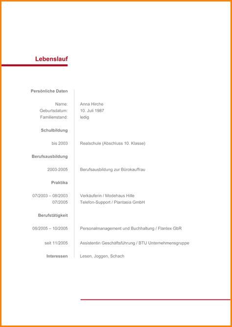 Lebenslauf Vordruck by 9 Lebenslauf Vordruck Zum Ausf 252 Llen Timothy Hodge