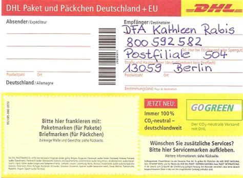 Gls Paketaufkleber Drucken by Kontakt Adresse Firma Ankauf Leere Tintenpatronen Toner