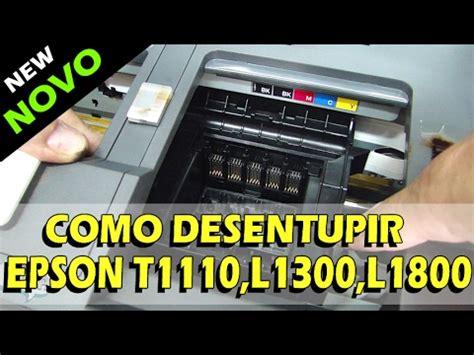 reset epson l1300 reset de esponjas reset epson l1300 impressora travada com as luzes piscando