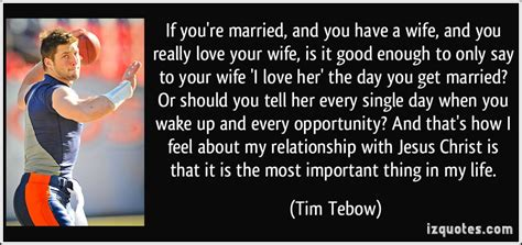 Your wife i love her the day you get married or should you tell her
