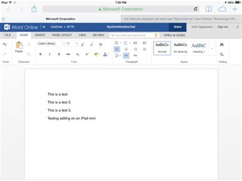 Word Onedrive Mobileviews Welcome Microsoft Office For Web To
