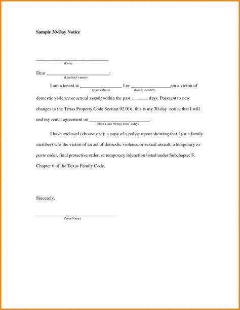 breaking lease letter template breaking lease letter template business