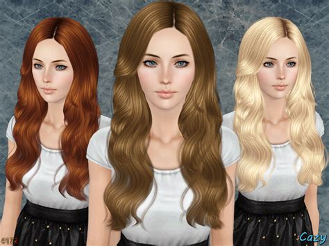the sims 3 free hairstyles downloads cazy s raindrops female hairstyle set