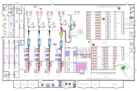 layout industrial online factory layouts on site online cad drawing drafting