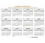 ECOSUR  Calendario