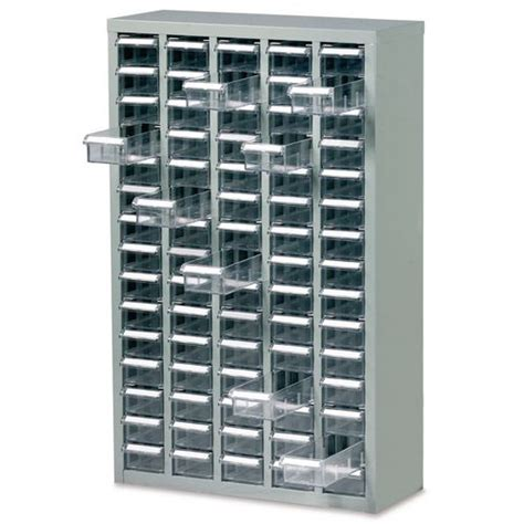 steel drawer cabinet with 60 bin trays steel drawer cabinet 937x586x222mm c w 60 bin trays