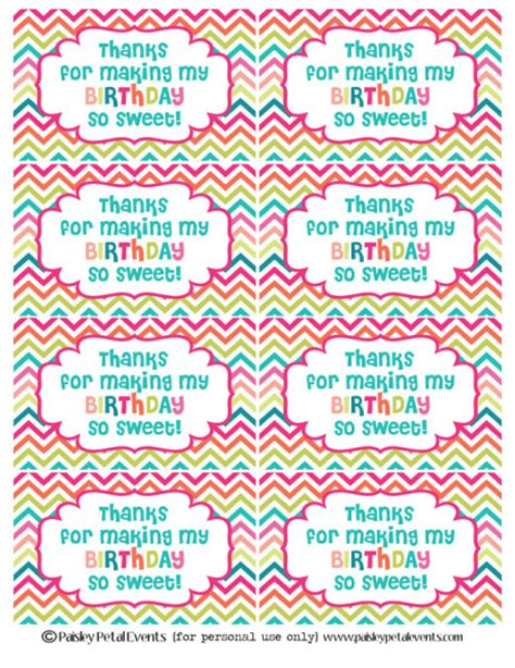 printable birthday stickers free printable happy birthday tags and cards paper crush
