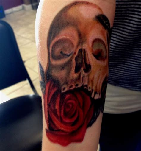 michael rose tattoos skull and by mike ashworth tattoos by mike