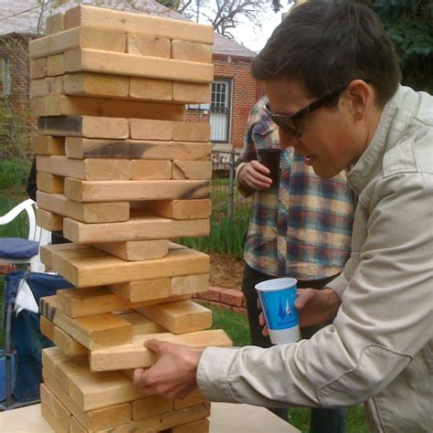 how to make backyard jenga diy lawn games for the labor day weekend partselect