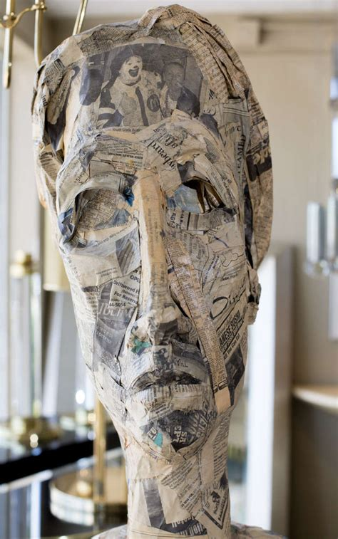 How To Make Paper Mache Sculptures - paper m 226 ch 233 figure sculpture at 1stdibs