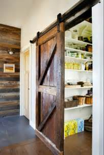 Sliding Pantry Door Hardware by Look A Sliding Barn Door To The Pantry Kitchen Inspiration
