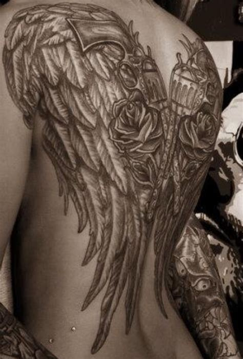 tattoo designs angel wings back 25 wings tattoos design ideas wings
