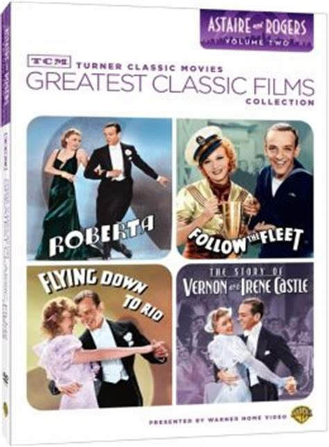 Turner Classic Movies Gift Cards - tcm greatest classic films collection astaire and rogers vol 2 by turner classic