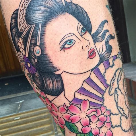geisha tattoo meaning 70 colorful japanese geisha tattoos meanings and