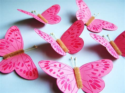 How To Make Butterfly In Paper - paper butterfly http lomets