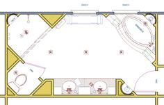 large master bathroom floor plans bath floor plan on pinterest floor plans bathroom