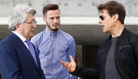 Changed Tom Cruise Still A Mentor by Tom Cruise Visita Wanda Metropolitano Y Ortiz