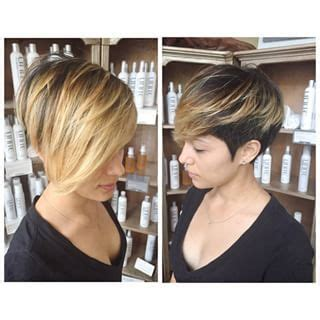 pixie haircut ombre ombre pixie google search short hairstyles pinterest