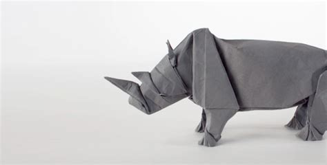 how to make origami rhino rhino origami feel desain