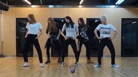 dance tutorial ah yeah exid exid ah yeah mirrored dance practice youtube