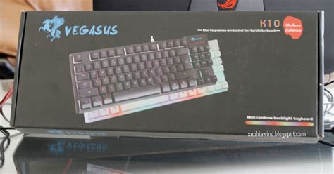 Keyboard Vegasus review vegasus k10 affordable mem chanical keyboard sephiawind