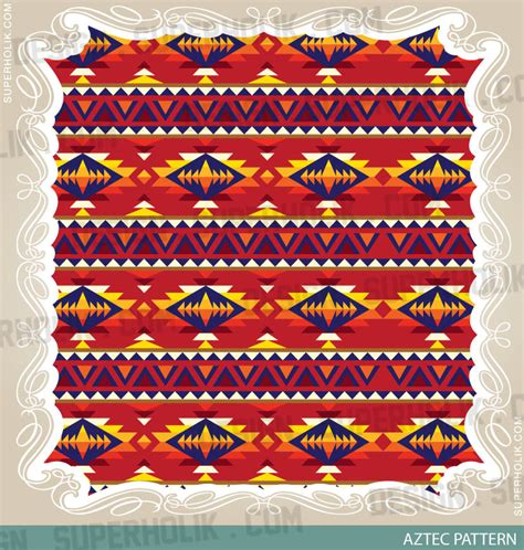 aztec pattern new calendar template site