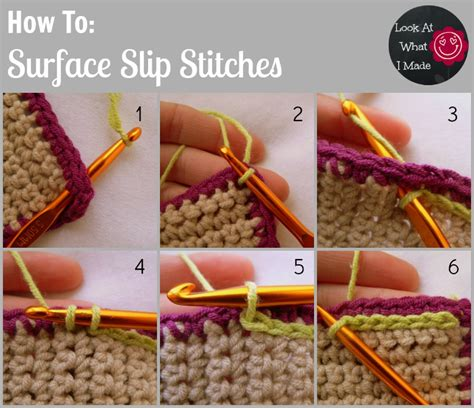 how do you do a slip stitch in knitting crochet stitches and how to do them creatys for