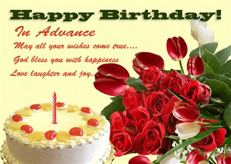 advance happy birthday pictures images graphics page