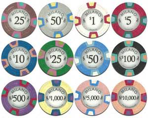 casino chips color value all claysmith gaming chips