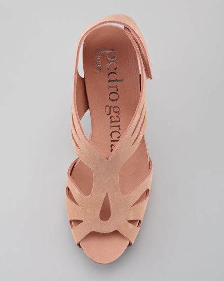 Handbag Pedro Roger A002 2 pedro garcia suede cutout mid heel sandal