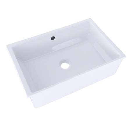 toto undermount lavatory sinks toto vernica i 20 in undermount bathroom in cotton