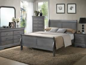 grey washed bedroom furniture mayville 4pc traditional louis phillippe grey king sleigh